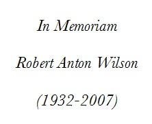 IMAGE- Dedication of 'Ultraculture Journal One' to Robert Anton Wilson