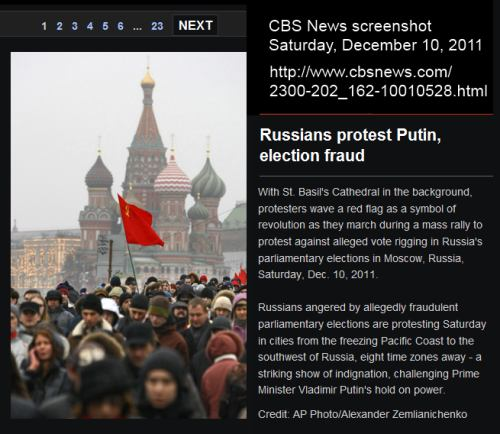 IMAGE- Red Flag in Moscow