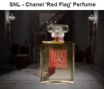 IMAGE- Kristen Wiig's SNL Red Flag perfume video