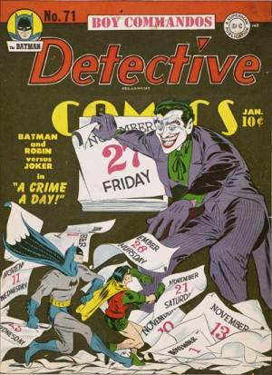 IMAGE- The Joker with calendar page for November 27