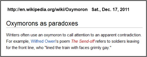 IMAGE- Wilfred Owen, 'faces grimly gay' in 'The Send-Off'