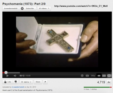 IMAGE- Heirloom Cross from 'Psychomania'
