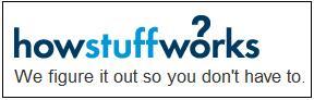 IMAGE- Website logo- 'How Stuff Works: We figure it out so you don't have to'