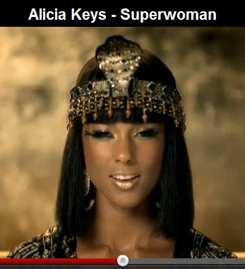 Alicia Keys in 'Superwoman' video