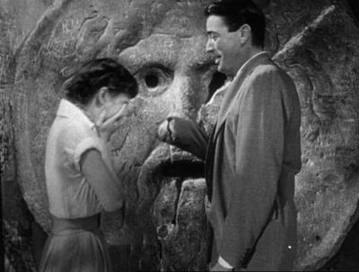 IMAGE- The Mouth of Truth in 'Roman Holiday'
