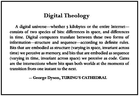 IMAGE- Excerpt from book 'Turing's Cathedral'
