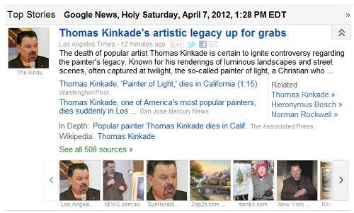 IMAGE-'Thomas Kinkade's artistic legacy'