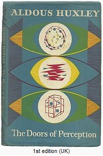 IMAGE- Aldous Huxley, 'The Doors of Perception,' first edition, UK