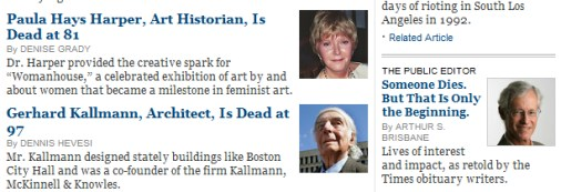 IMAGE- Obits for art historian Paula Hays Harper and architect Gerhard Kallmann