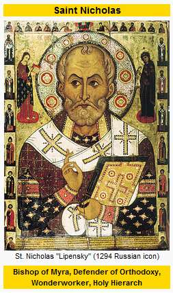 IMAGE- St. Nicholas of Bari (or Myra)