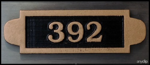IMAGE- Safe deposit box number 392