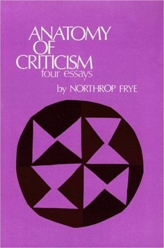 IMAGE- 'Yankee Puzzle' quilt block pattern on cover of Northrop Frye's 'Anatomy of Criticism'