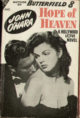 IMAGE- 'Hope of Heaven,' by John O'Hara, 1947 Avon paperback
