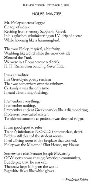 IMAGE- Poem on Harvard in the 1950s