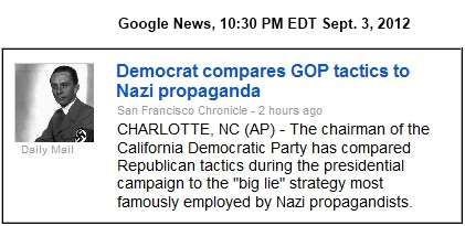 IMAGE- California Democratic chairman says GOP uses 'Big Lie' strategy.