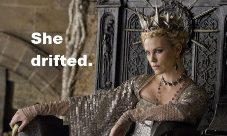 IMAGE- Charlize Theron as Ravenna: 'She drifted.'
