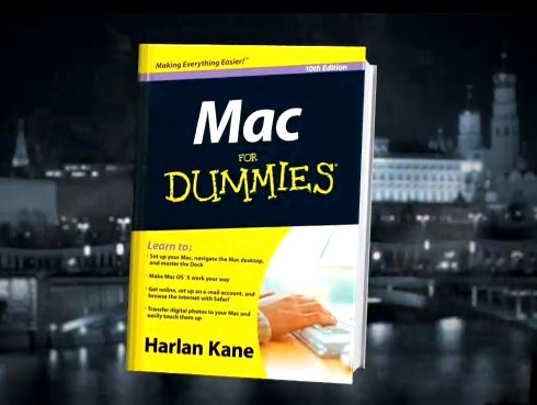 IMAGE- 'Mac for Dummies' from SNL 'Harlan Kane' sketch