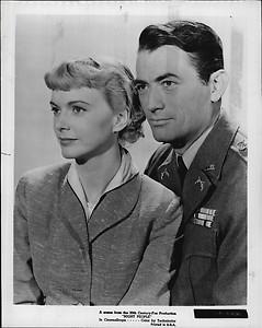 Anita Björk and Gregory Peck in 'Night People' (1954)