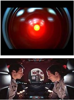 IMAGE- HAL reading lips in '2001: A Space Odyssey'
