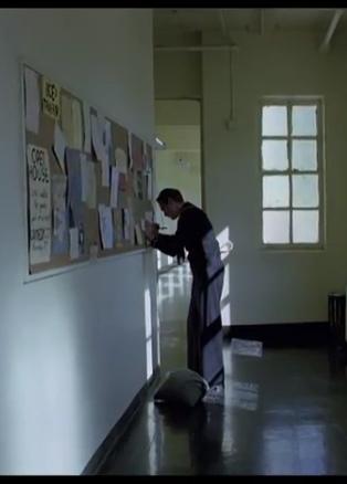 IMAGE- Joaquin Phoenix, corridor scene in 'The Master'