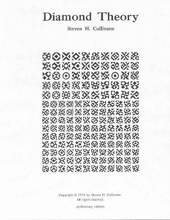 IMAGE- 'Diamond Theory,' © 1976 by Steven H. Cullinane