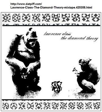 IMAGE- Cover image for a free mixtape, 'Lawrence Class - The Diamond Theory,' that contains images from Steven H. Cullinane's 'Diamond Theory.'