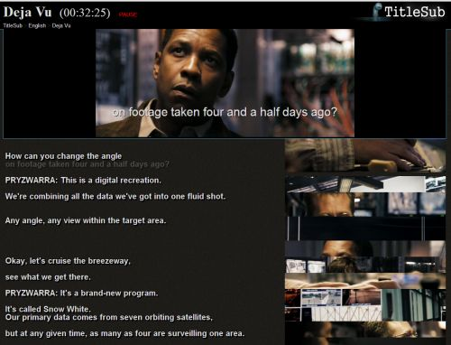 IMAGE- Denzel Washington in 'Deja Vu' (2006)
