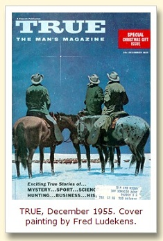 IMAGE- Cowboy magi and star on cover of TRUE, Dec. 1955
