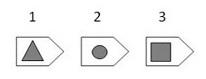 IMAGE- Triangle, circle, square