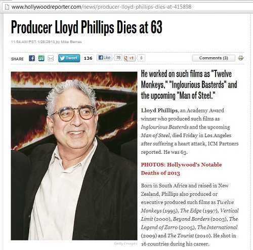 IMAGE- Producer Lloyd Phillips dies at 63