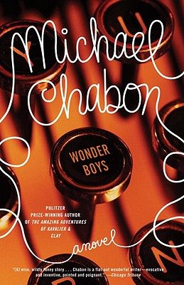 IMAGE- Book cover with 'WONDER BOYS' typewriter key