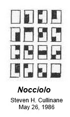 IMAGE- 'Nocciolo': A 'kernel' for Pascal's Hexagrammum Mysticum: The 15 2-subsets of a 6-set as points in a Galois geometry.