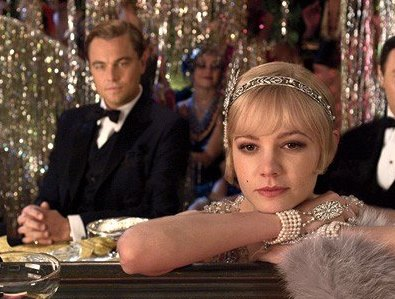 IMAGE- Leonardo DiCaprio and Carey Mulligan in the new Gatsby film
