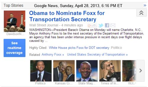 IMAGE- Obama to nominate Foxx