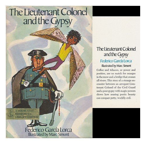 IMAGE- Book cover by Marc Simont, 'The Lieutenant Colonel and the Gypsy'