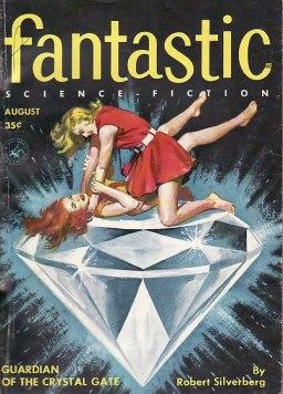 Scifi art- Women on Diamond
