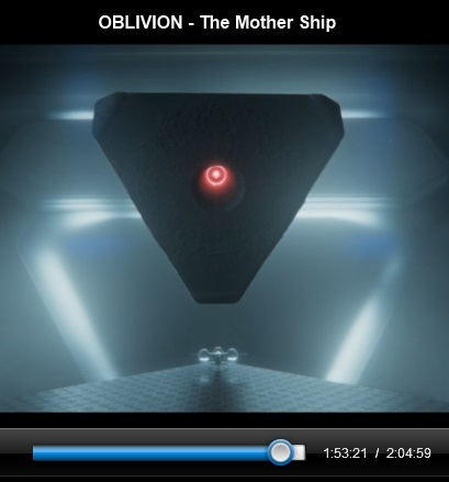 IMAGE- From 'Oblivion' (2013), the Mother Ship
