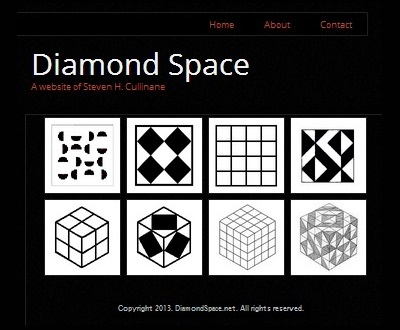 IMAGE- Site with keywords 'Galois space, Galois geometry, finite geometry' at DiamondSpace.net