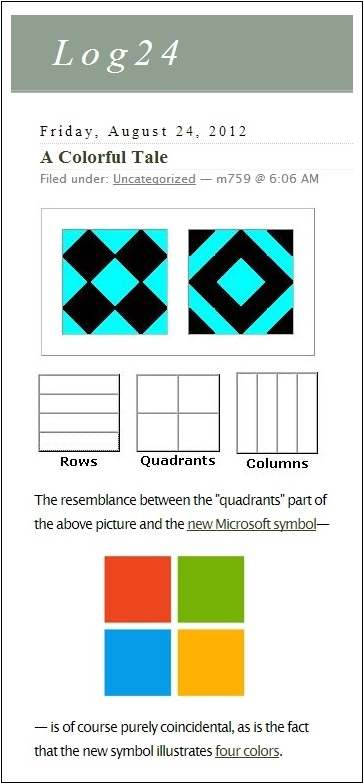 IMAGE- The Diamond 16 Puzzle, with commentary