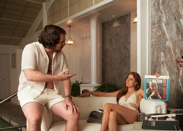Christian Bale and Amy Adams in 'American Hustle'