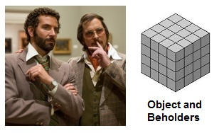 IMAGE- 'American Hustle' and Art Cube