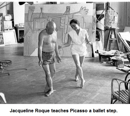 Picasso Ballet: Photo by David Douglas Duncan