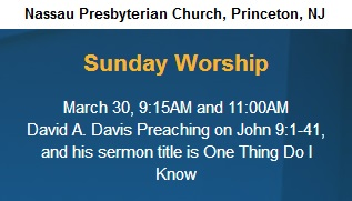 IMAGE- Sermon topic 'One Thing Do I Know'