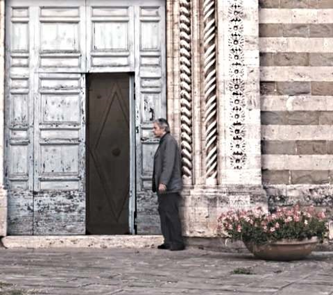 IMAGE- Church door from 'Certified Copy'