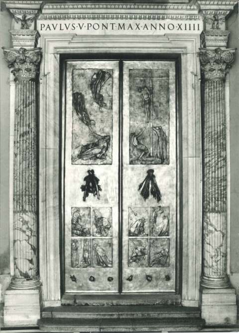 IMAGE- Manzu doors at the Vatican