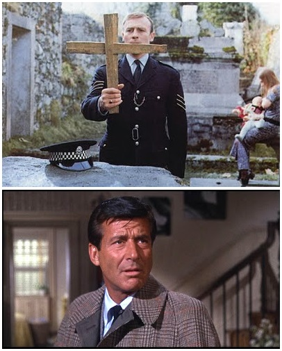 IMAGE- Edward Woodward in 'The Wicker Man,' Efrem Zimbalist Jr. in 'Wait Until Dark'
