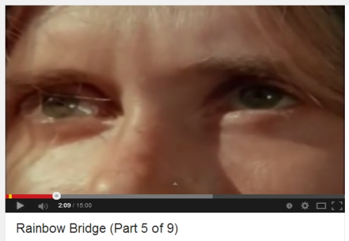 IMAGE- Eyes of girl in 'Rainbow Bridge: Part 5 of 6' video
