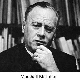 IMAGE- Marshall McLuhan