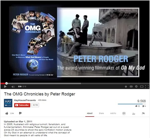 IMAGE- Video promoting book by Peter Rodger