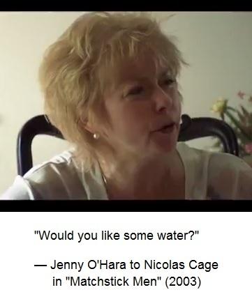 IMAGE- Jenny O'Hara sums up the Log24 'Aqua' theme
